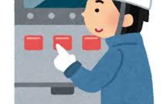 工場でバルブ部品の簡単な目視検査作業