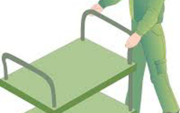 製品の構内運搬、および組立補助業務